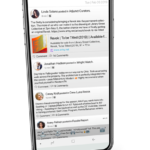 USpace app - Universal Feed screenshot in perspective
