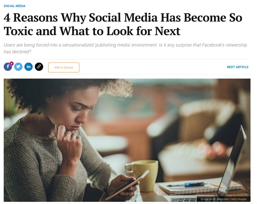 4 Reasons Why Social Media Has Become So Toxic and What to Look for Next
