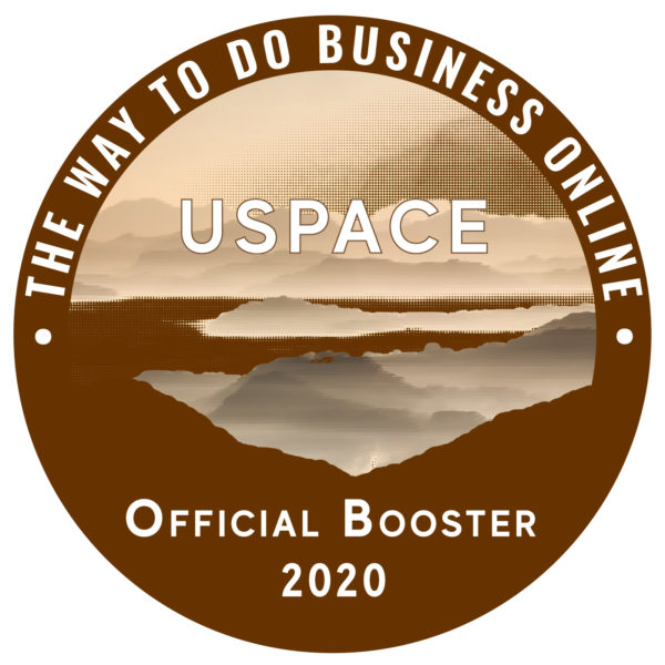 USpace Booster Digital Badge